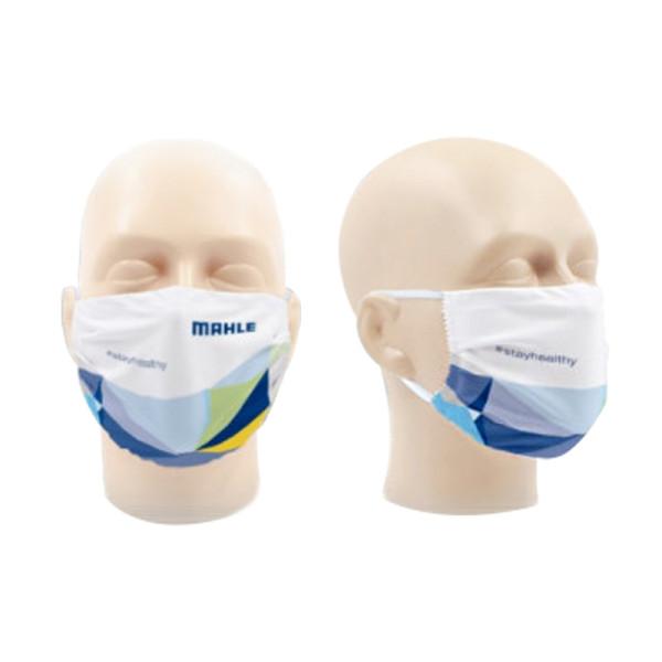 Mikrofaser Gesichtsmaske mit MAHLE Logo